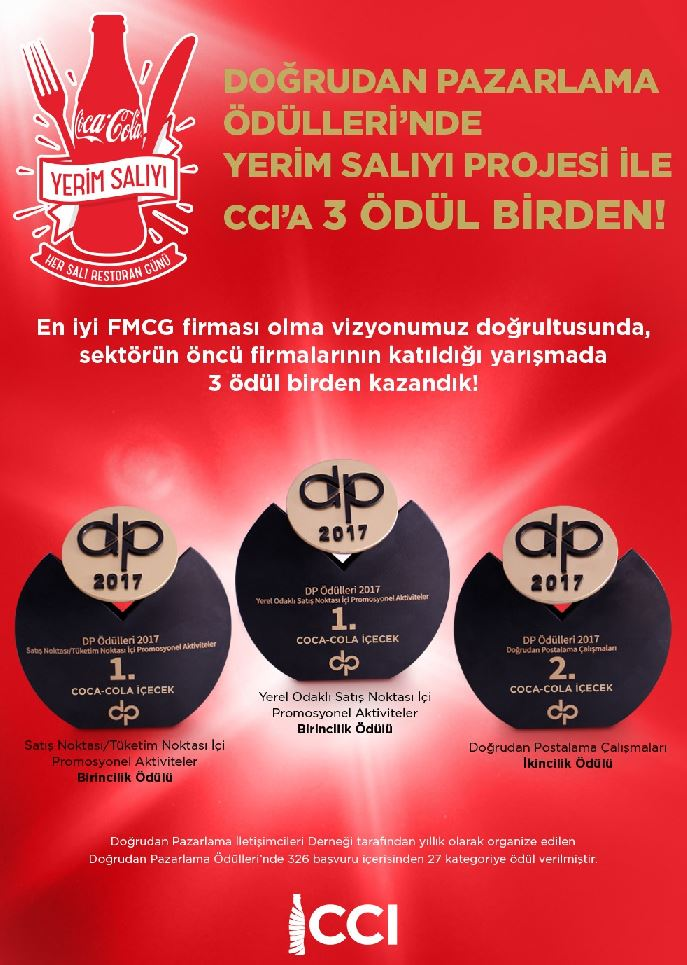 Turkey Operation's 'Yerim Salıyı' Project Received Three Awards