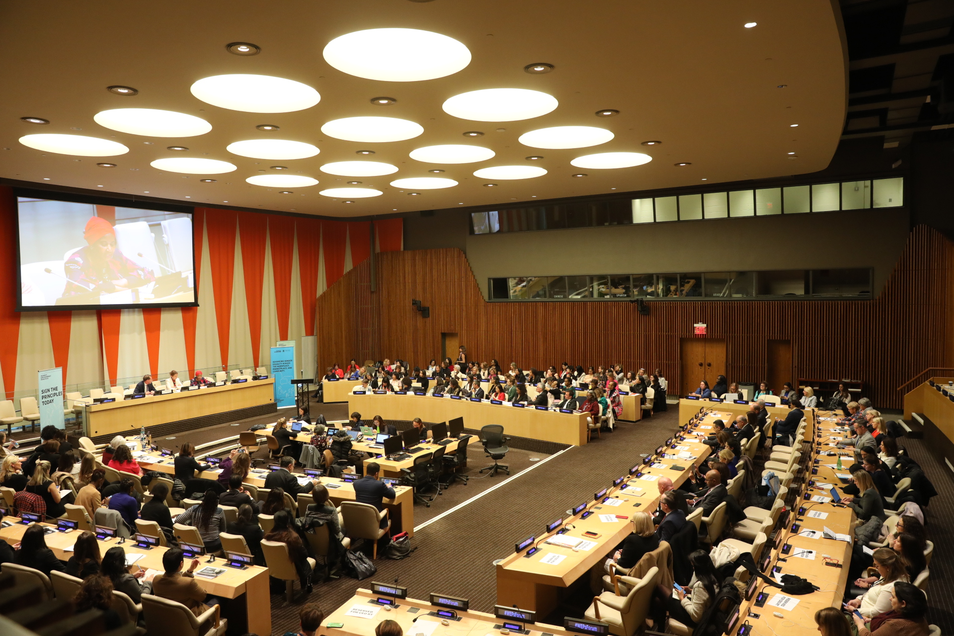 Coca-Cola İçecek Attended United Nations Gender Equality Meeting