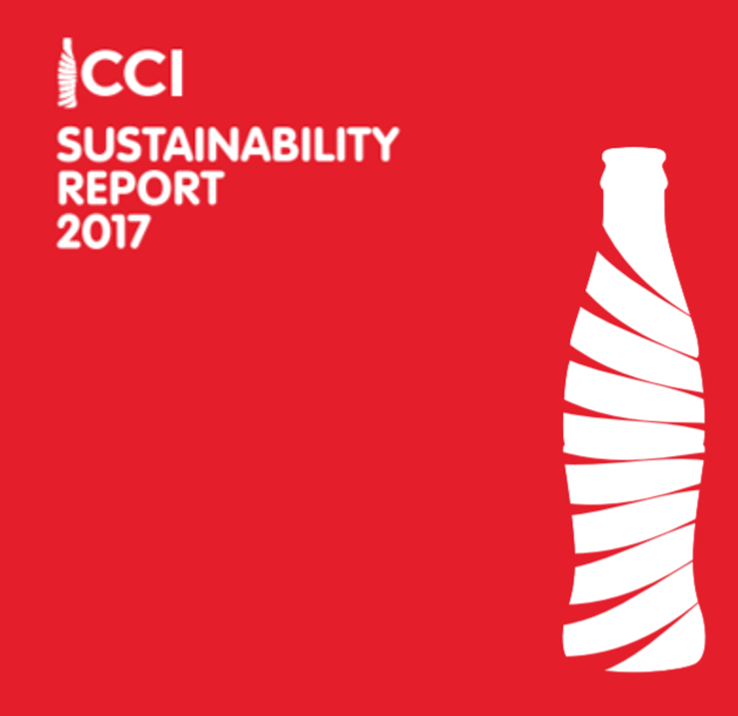 CCI Released its Latest Sustainability Report